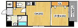 DiasII 鶴見6丁目新築[7階]の間取り