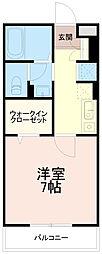 セジュールオッツ[2階]の間取り