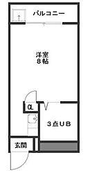 コーポ YOSHII[306号室]の間取り