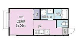 JR京浜東北・根岸線 大宮駅 徒歩11分の賃貸アパート 1階1Kの間取り