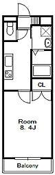 Wood Castle[3階]の間取り