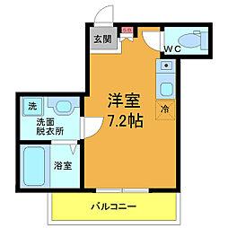 千葉県浦安市北栄1丁目の賃貸アパートの間取り