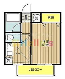 インスラ・ハマノ[1階]の間取り
