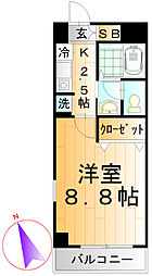 高島平コロナハイツ[2階]の間取り