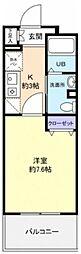 サンハイム久保田[307号室]の間取り