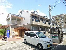 大阪府池田市渋谷2丁目の賃貸アパートの外観