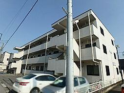 栃木県宇都宮市西原3丁目の賃貸マンションの外観
