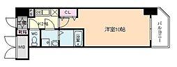 エスリード福島第5[12階]の間取り