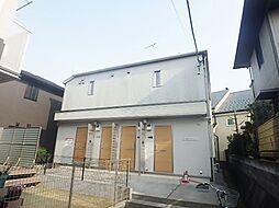 東京都八王子市南大沢2丁目の賃貸アパートの外観