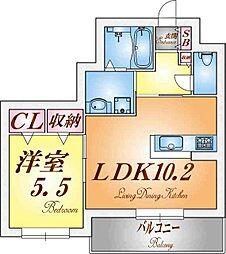 兵庫県神戸市垂水区潮見が丘1丁目の賃貸マンションの間取り
