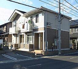 栃木県宇都宮市江曽島1丁目の賃貸アパートの外観
