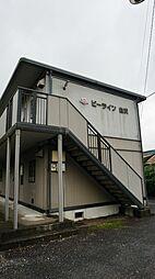 栃木県宇都宮市白沢町の賃貸アパートの外観