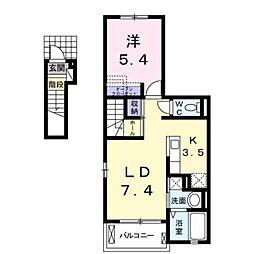 ソラーナI[2階]の間取り