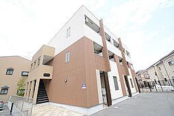 大阪府堺市北区東三国ヶ丘町3丁の賃貸アパートの外観