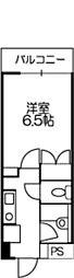 ドミール喜多見[108号室]の間取り