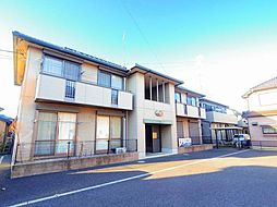 埼玉県北本市中丸7丁目の賃貸アパートの外観