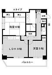 東京都練馬区桜台4丁目の賃貸マンションの間取り