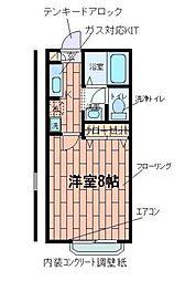 コートドール[1階]の間取り