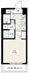 MAXIV武蔵新城(マキシヴムサシシンジョウ) 4階1Kの間取り