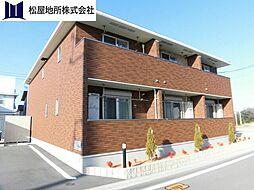 愛知県田原市浦町大原西の賃貸アパートの外観