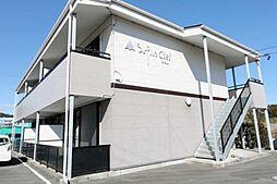 静岡県菊川市棚草の賃貸アパートの外観