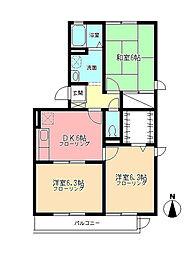 エーデルハイム鎌倉[3階]の間取り