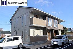 愛知県豊橋市西岩田4丁目の賃貸アパートの外観