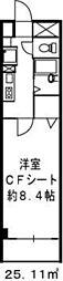 ドミール江戸堀[11階]の間取り