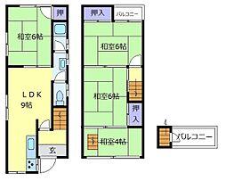 上野芝駅 6.0万円