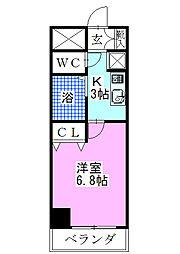 S−FORT舞浜[401号室]の間取り