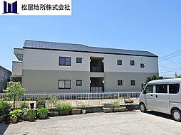 愛知県豊橋市山田三番町の賃貸アパートの外観