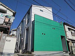 東京都北区東十条3丁目の賃貸アパートの外観