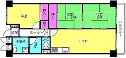 ネオハイツ加古川[203号室]の間取り