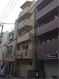 神奈川県川崎市中原区上新城2丁目の賃貸マンションの外観