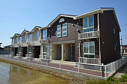 新潟県三条市直江町3丁目の賃貸アパートの外観