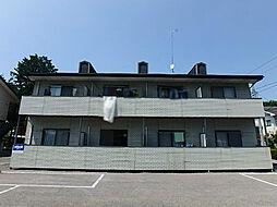 栃木県宇都宮市氷室町の賃貸アパートの外観