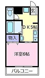 コーラルコート[3階]の間取り