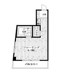 エトワール関[2階]の間取り
