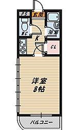 モリビル京橋[5階]の間取り