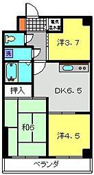 カームヒルズ[5階]の間取り