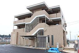 滋賀県東近江市外町の賃貸マンションの外観