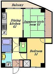 サンライズヨシオカ[2階]の間取り