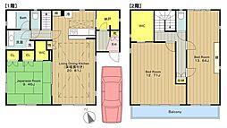 [一戸建] 神奈川県川崎市麻生区はるひ野1丁目 の賃貸【/】の間取り