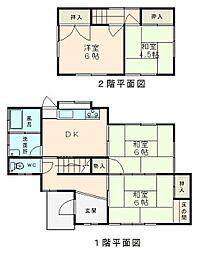 [一戸建] 福岡県福岡市早良区野芥5丁目 の賃貸【/】の間取り