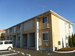 茨城県筑西市下川島の賃貸アパートの外観