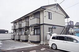 栃木県小山市神鳥谷4丁目の賃貸アパートの外観