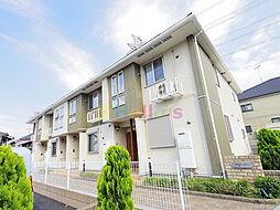 東京都青梅市藤橋3丁目の賃貸アパートの外観