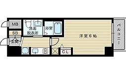 エステムコート新大阪XIリンクス[9階]の間取り