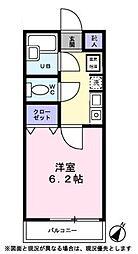 浦安大永マンション[305号室]の間取り