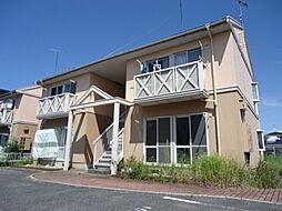 滋賀県彦根市芹川町の賃貸アパートの外観